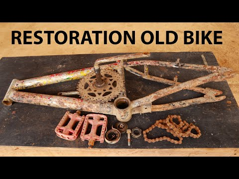 restoration bike from wreckage bicycle 3 thumbnail