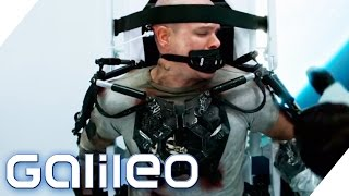 Ein Exoskelett im Real Life | Galileo Lunch Break