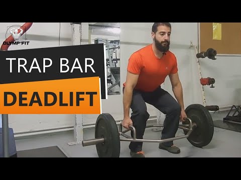 Trap Bar Deadlift - Soulevé de Terre à la barre HEXA