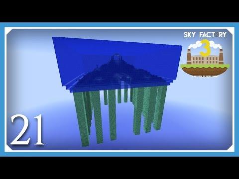 FTB Sky Factory 3 | RFTools Dimensions! | E21 (Modded Skyblock Minecraft 1.10.2)