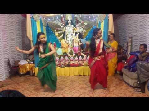 Navratri Songs Ambe Krupa kari- choreographe by Jennita Saccaram
