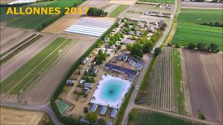 CAMPING LE PO DORE | DRONE VIEW | SAUMUR 2017