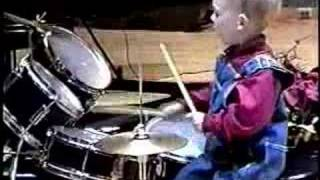 3 Year Old Drummer thumbnail