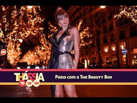 Thássia Te Leva: Paris com a The Beauty Box