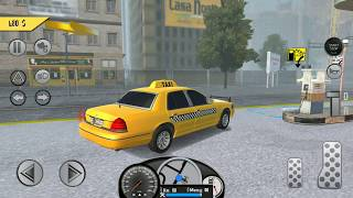Taxi Driver Simulator 2018 | Street Vehicles for Kids | New Car Games