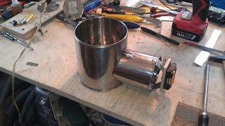 Печка Бонда (изготовление)