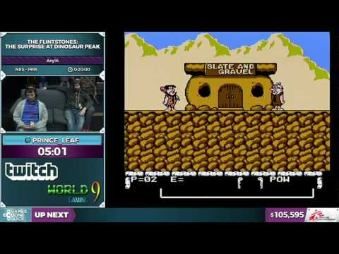 The Flintstones: The Surprise at Dinosaur Peak! by Prince_Leaf in 0:16:10 - SGDQ2016 - Part 22
