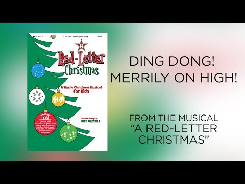 Ding Dong! Merrily on High! (Lyric Video) | A Red-Letter Christmas [Simple Christmas Kids]
