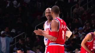 kobe bryant and michael jordan trash talking at 2003 all star game