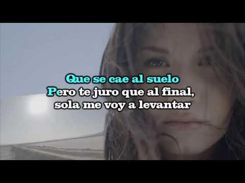 Karaoke Rascacielo Demi Lovato Instrumental