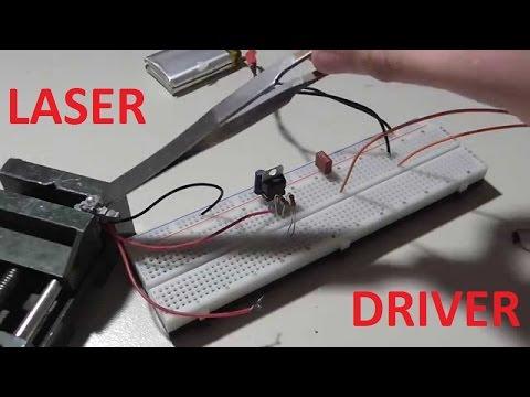 Tutorial - Treiber für Laserdiode bauen