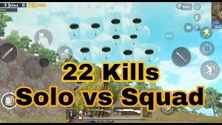 Solo vs squad 22 kills chicken dinner with Anubhav Gaming Live