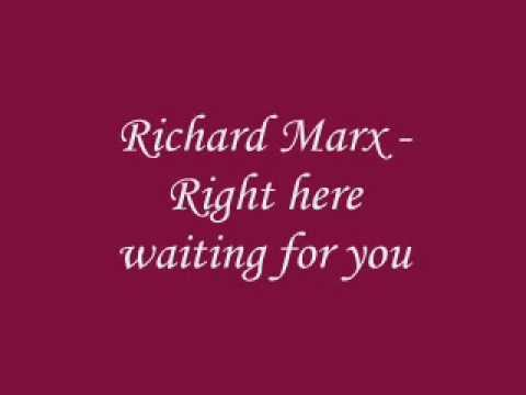 RIGHT HERE WAITING CHORDS (ver 2) by Richard Marx ...