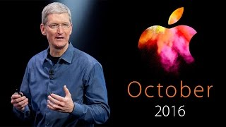 NEW MacBook Pro, Air & Mac Pro 2016 (Apple October Event) - Everything to Expect!