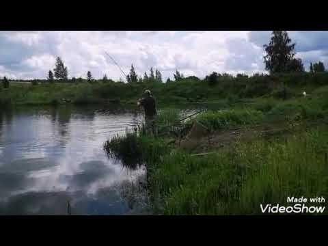 Видео и фото отчёт рыбалки  09.07.19 на водоемах в Кокино