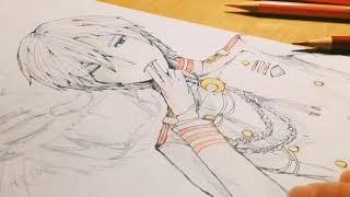 【終わりのセラフ】柊深夜描いてみた【リクエスト】 レーネ・シム 検索動画 19
