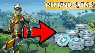 HOW TO REFUND SKINS IN FORTNITE BATTLE ROYALE! Fortnite Refund Tutorial!