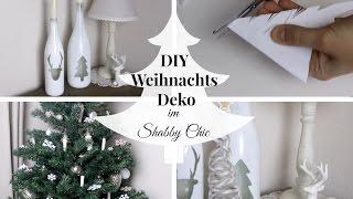 4 DIY WEIHNACHTSDEKORATIONEN | im Shabby Chic / Landhaus Stil