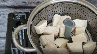 香芋馅 How to make Taro Desert Filling