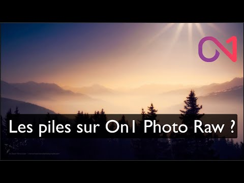 Empiler ses images sur On1 Photo RAW ?