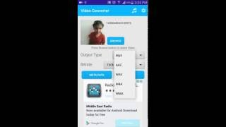 Best android app to convert any video mp3 or other audio format for simple click install it now from playstore free http://www.play.google.com/store/ap...