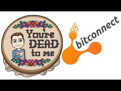 Bitconnect Scam is Over RIP