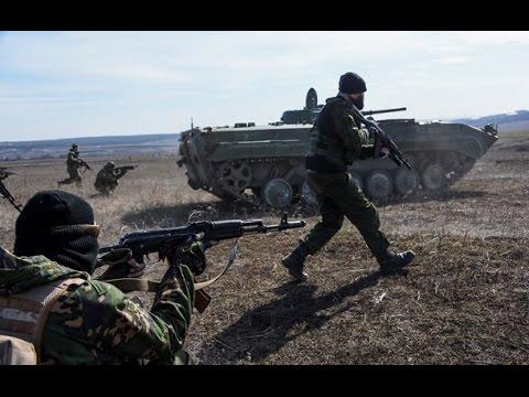 Картинки с украинского фронта! Марьинка, Широкино, Толоковка