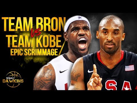 Team LeBron vs Team Kobe EPiC USA Redeem Team Scrimmage Full Highlights | SQUADawkins