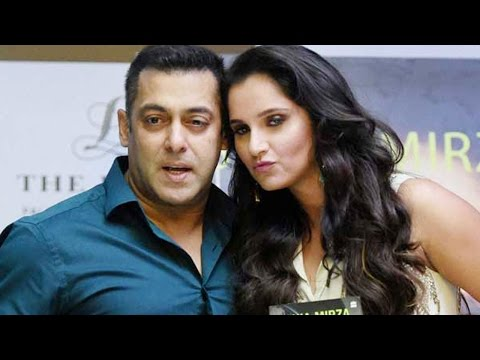 Salman khan invites Sania Mirza to join Bollywood | FULL VIDEO