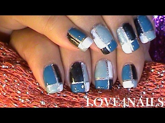 Hues of Blue – LOVE4NAILS - 7 Awesome YouTube Nail Tutorials…