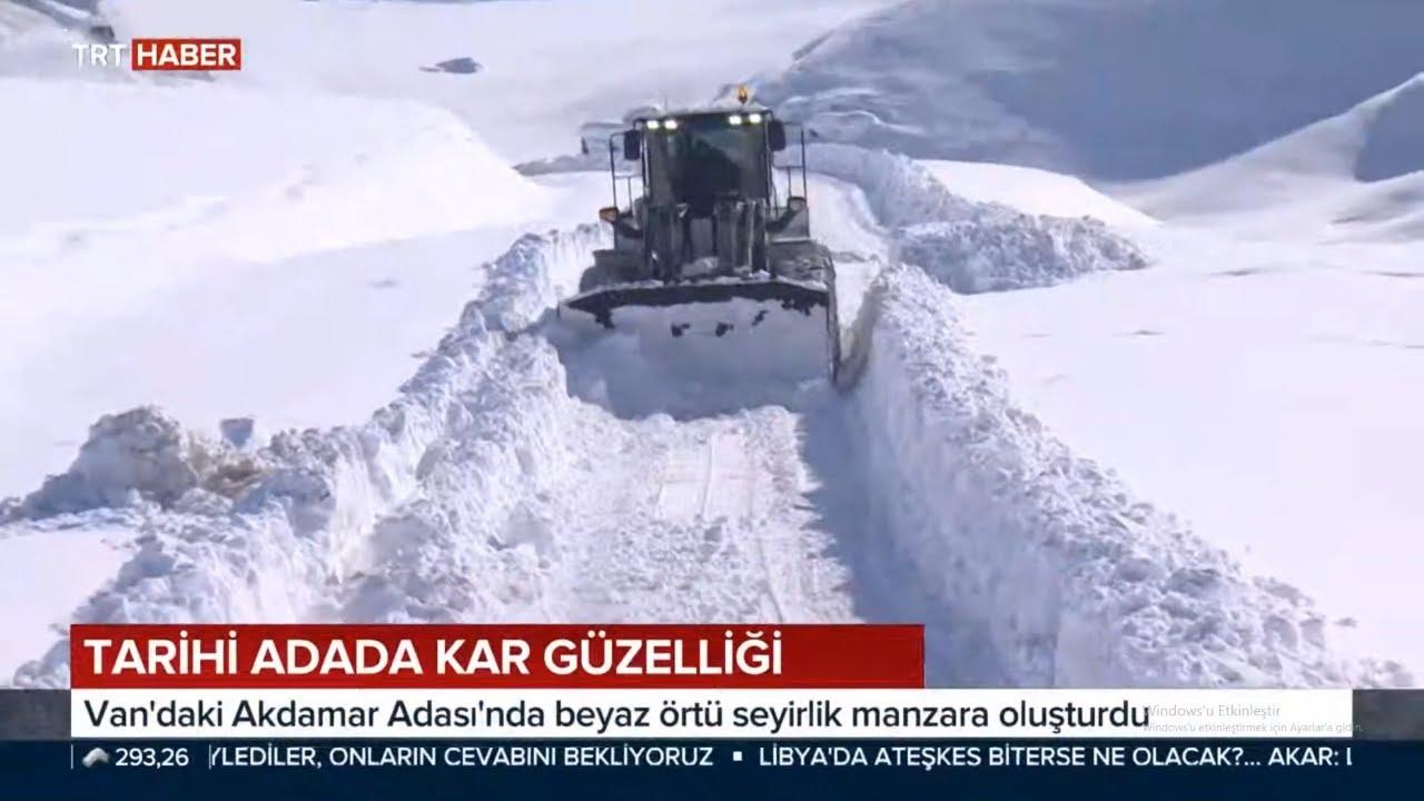 Doğu Anadoluda Kar Güzelliği / Van Akdamar Adası
