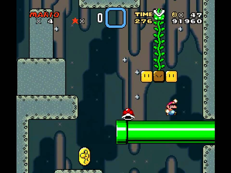 Let\'s Play Super Mario World [Part 9] - Roter Schalterpalast - YouTube