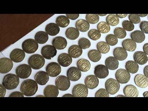 Massive Hoard of Ancient Islamic Hammered Gold and Silver Coins (Worth $50,000)