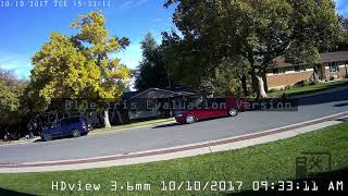 HDview 3.6mm - 4MP IP Camera Daytime Sample
