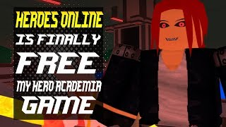 Finally! Free Heroes Online | My Hero Academia Game | Roblox | Noclypso