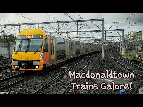 Sydney Trains Vlog 1334: Macdonaldtown Trains Galore!