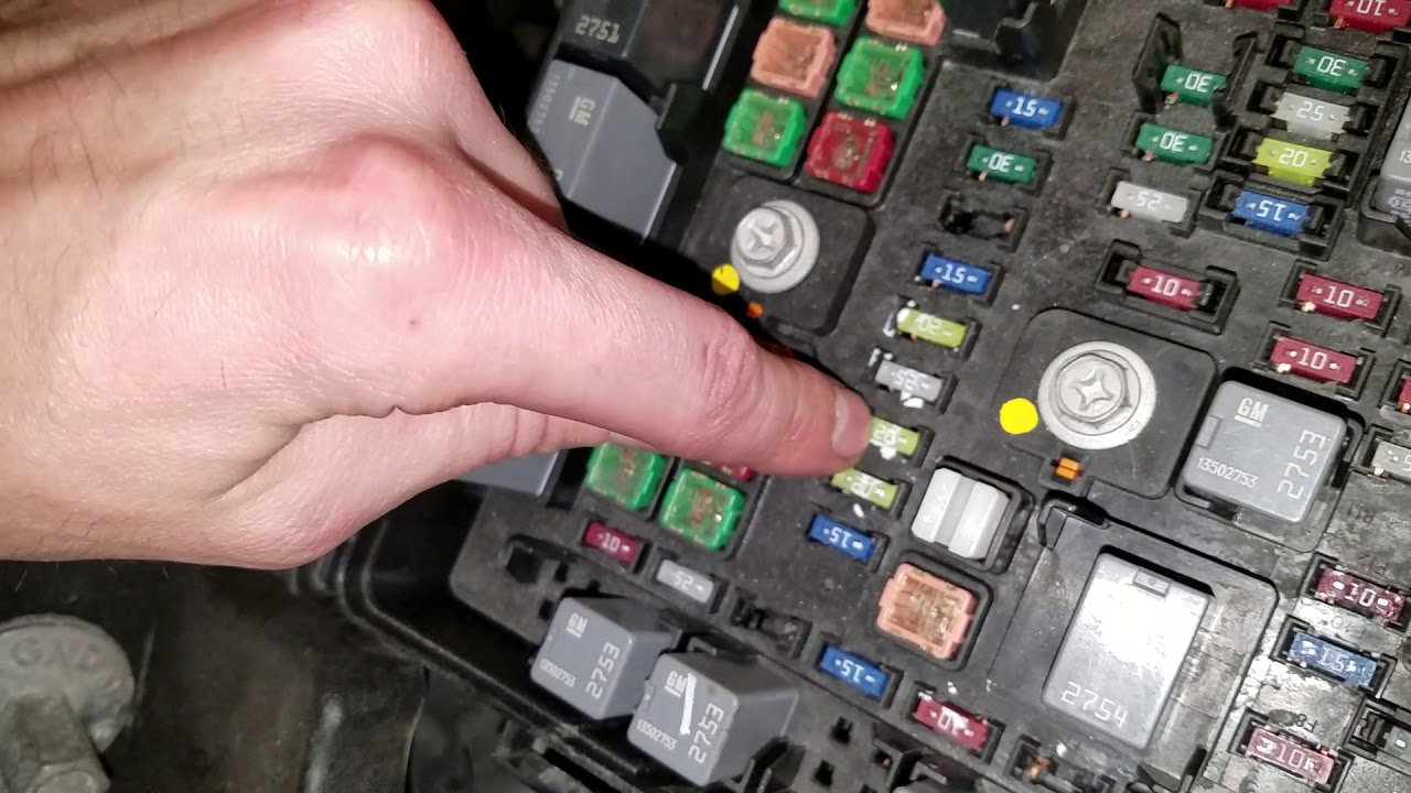 Fuse Box On Chevy Traverse