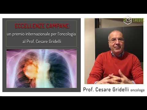 Un premio internazionale al Prof. Cesare Gridelli