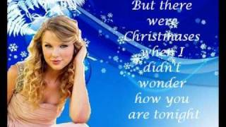 Taylor Swift - Christmases when you were mine Lyrics on Screen!