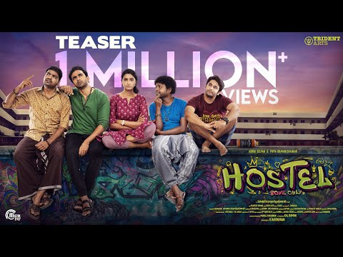 Hostel - Teaser I Ashok Selvan, Priya Bhavani Shankar I Sumanth Radhakrishnan I Bobo Sasii I Durai