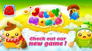 Jelly Mania: Gameplay trailer - a new match-three game on iOS and Android