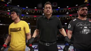 Bruce Lee vs. Kelvin Gastelum (EA sports UFC 3) CPU vs. CPU