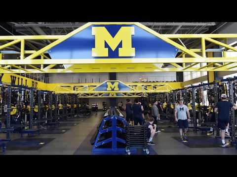 University of Michigan's new athletic facility