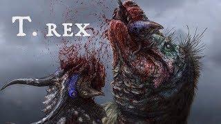 T. rex's Skull-Shattering Bite