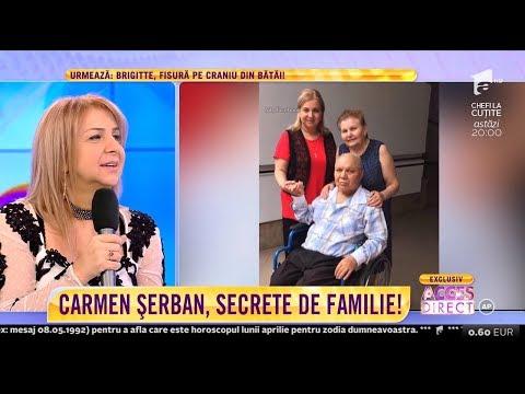 """Mama lui Carmen Șerban, despre tatăl artistei: """"Când era tânăr era mai iubăreț..."""""""