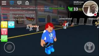 Hacker in the server/ roblox assassins