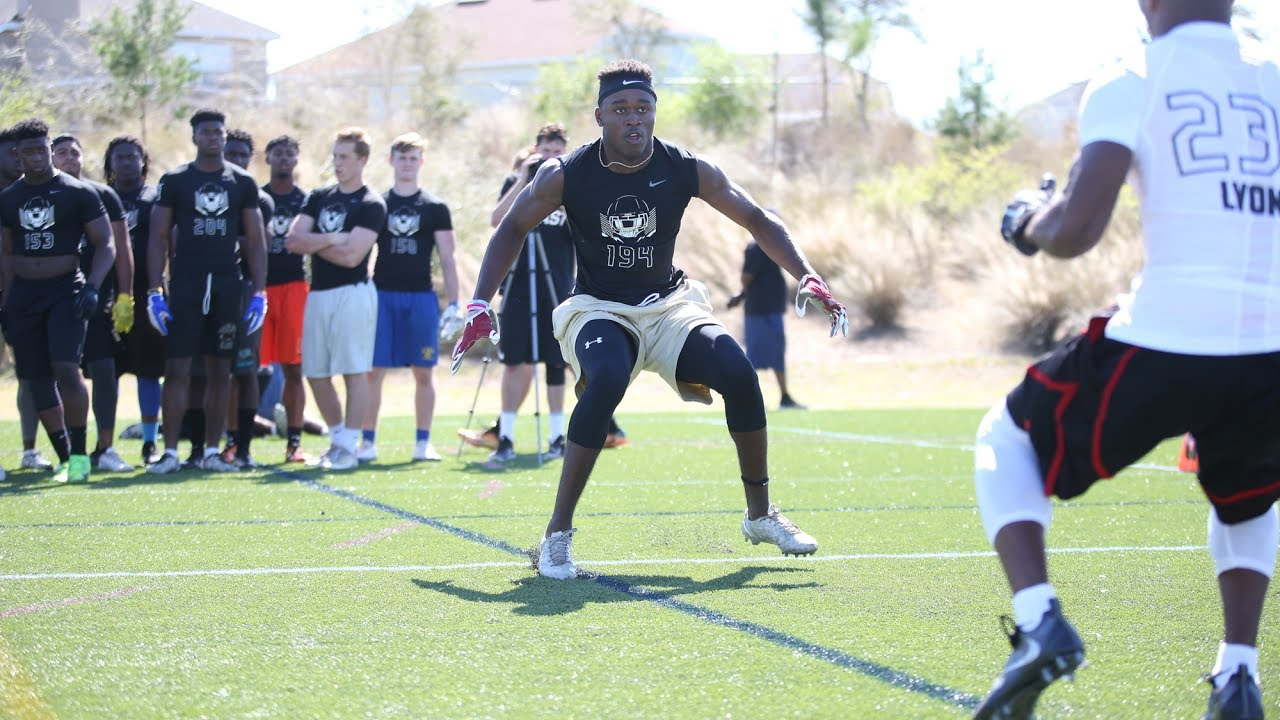 4-star LB Amari Gainer is dominant in space - YouTube