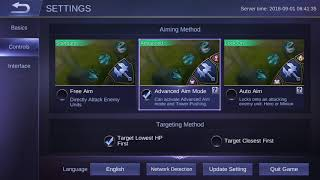 Tips on MLBB - How to Enable hero lock mode in Mobile Legends Bang Bang!
