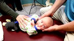 *MUST WATCH* Baby Being Adjusted By A Chiropractor | Hjort Chiropractic (St Cloud, Minnesota)