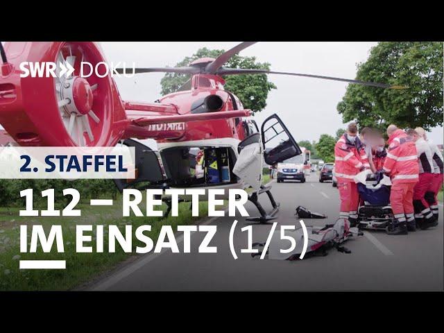 Dramatischer Motorradunfall | 112 Retter im Einsatz (1/5) | SWR Doku